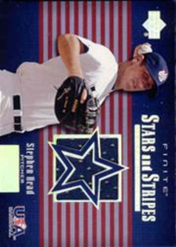 Photo of 2003 Upper Deck Finite Stars and Stripes Game Jersey #J8 Stephen Head