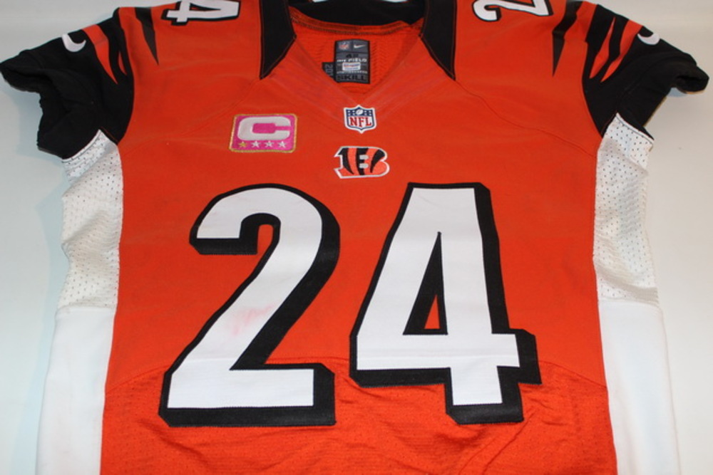 BCA - BENGALS ADAM PACMAN JONES GAME WORN BENGALS JERSEY (OCTOBER 23, 2016)