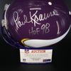 HOF - Vikings Paul Krause Signed Proline Helmet