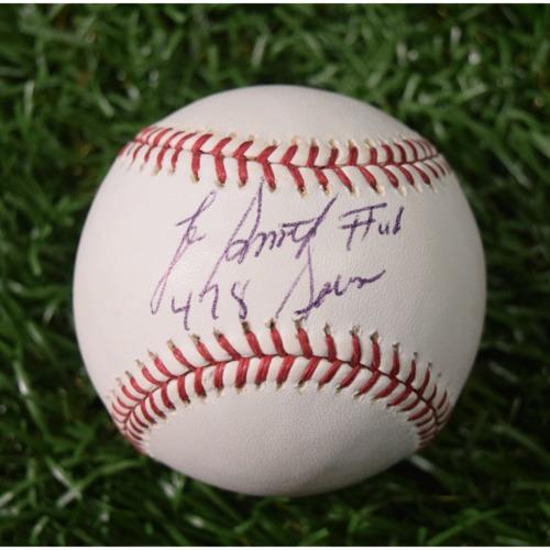 Photo of Rays Baseball Foundation Auction: Lee Smith Autographed Baseball