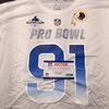 PCF - Redskins Ryan Kerrigan NFC Practice Used Pro Bowl 2019 Shirt Size XXL
