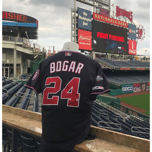 Photo of NLDS/NLCS Game-Used Jersey: Tim Bogar