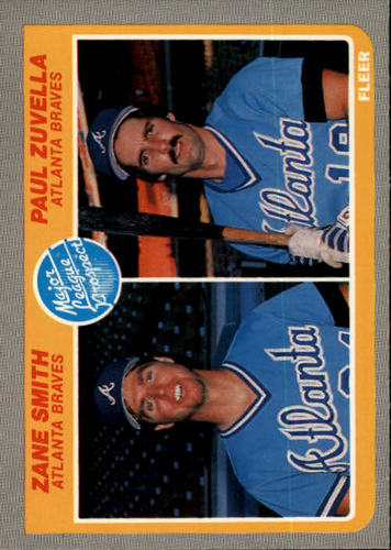 Photo of 1985 Fleer #651 Zane Smith RC/Paul Zuvella RC