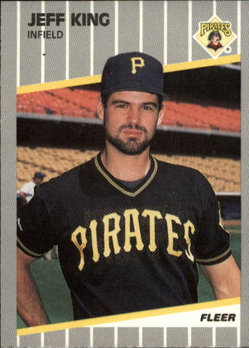 Photo of 1989 Fleer Update #114 Jeff King