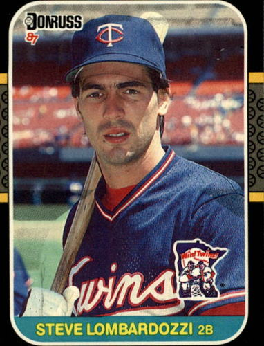 Photo of 1987 Donruss #318 Steve Lombardozzi