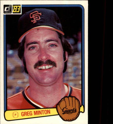 Photo of 1983 Donruss #186 Greg Minton