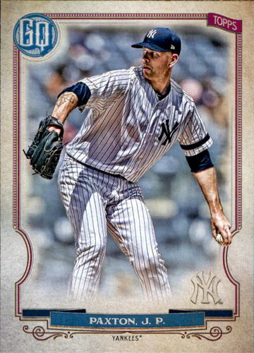 Photo of 2020 Topps Gypsy Queen #177 James Paxton