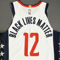 Jerome Robinson - Washington Wizards - Game-Worn City Edition Jersey - 2019-20 NBA Season Restart with Social Justice Message