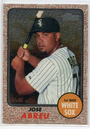 Photo of 2017 Topps Heritage Chrome #THC429 Jose Abreu