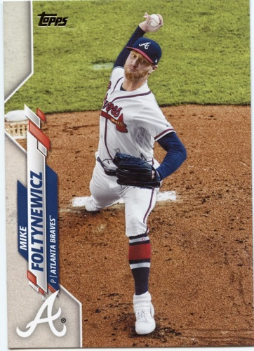 Photo of 2020 Topps #425 Mike Foltynewicz