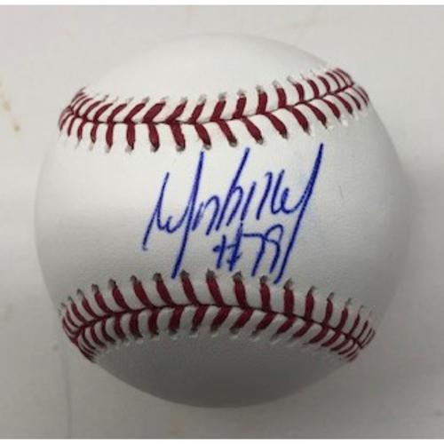 Photo of Jose Abreu Autographed Baseball