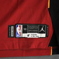 Udonis Haslem - Miami Heat - Game-Worn - Statement Edition Jersey - Christmas Day 2020 - Dressed, Did Not Play (DNP)