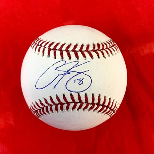 Photo of Carson Kelly Autographed Baseball