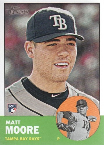 Photo of 2012 Topps Heritage #391 Matt Moore RC