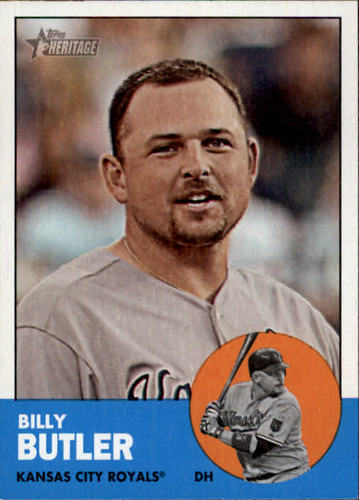 Photo of 2012 Topps Heritage #316 Billy Butler