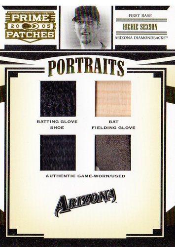 Photo of 2005 Prime Patches Portraits Quad Swatch #17 R.Sexson B-BG-FG-SH/61