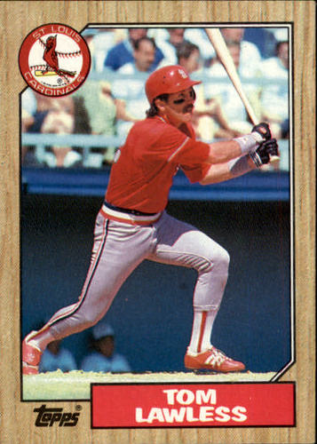 Photo of 1987 Topps #647 Tom Lawless