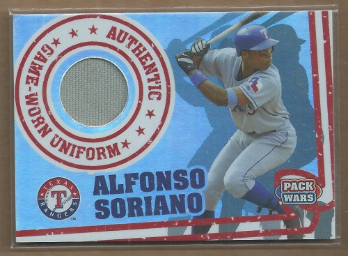 Photo of 2005 Topps Pack Wars Relics #AS Alfonso Soriano Uni A
