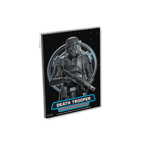 2016 Topps Star Wars Rogue One Series One 5x7 Villains of the Galactic Empire Set (8 Cards) - # to 49
