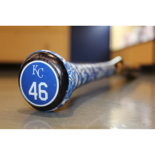 Photo of Game-Used Broken Bat: Used by Ramon Torres (Alcides Escobar Model - MIN at KC - 9/7/17)