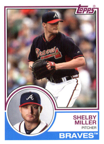 Photo of 2015 Topps Archives #230 Shelby Miller