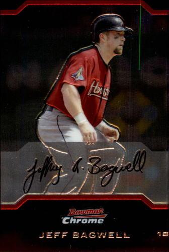 Photo of 2004 Bowman Chrome #113 Jeff Bagwell