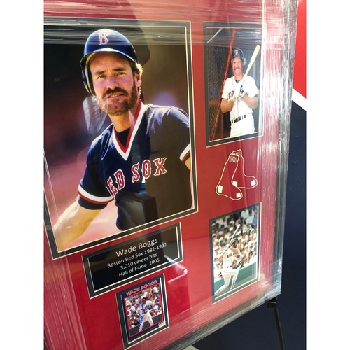 Photo of Wade Boggs Autographed Artwork - Not MLB Authenticated