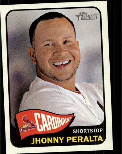 Photo of 2014 Topps Heritage #288 Jhonny Peralta