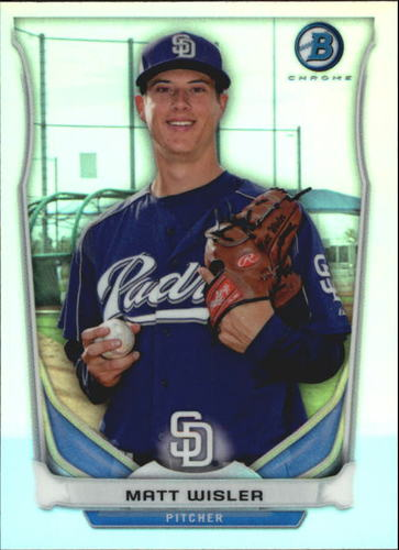Photo of 2014 Bowman Chrome Bowman Scout Top 5 Mini Refractors #BMSDP4 Matt Wisler