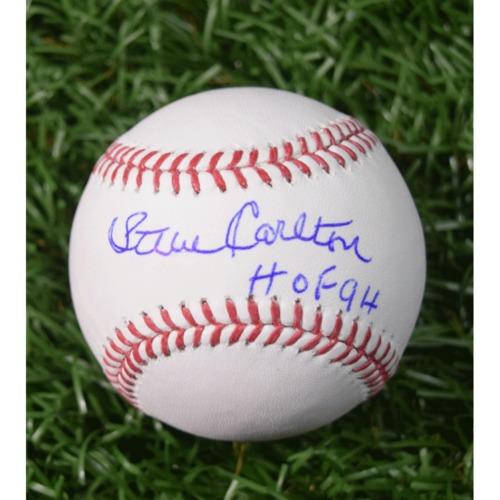 Photo of Rays Baseball Foundation Auction: Steve Carlton Autographed Baseball