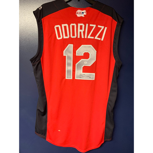 Photo of Jake Odorizzi 2019 Major League Baseball Workout Day Autographed Jersey