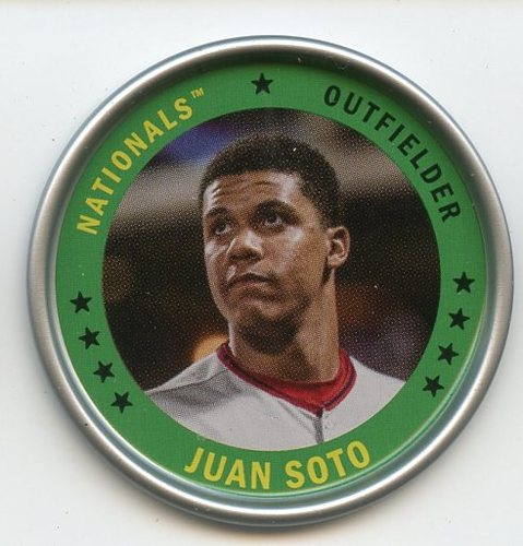 Photo of 2019 Topps Archives Coins #C4 Juan Soto