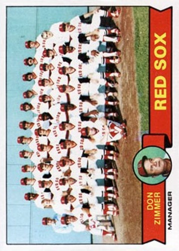 Photo of 1979 Topps #214 Boston Red Sox CL/Don Zimmer MG