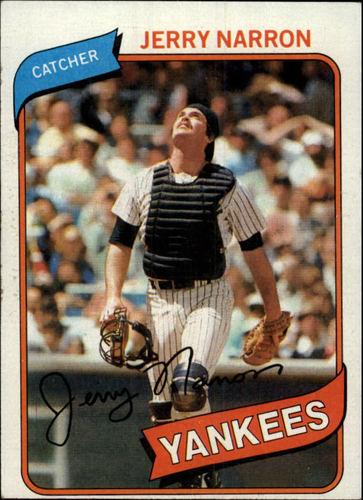 Photo of 1980 Topps #16 Jerry Narron RC