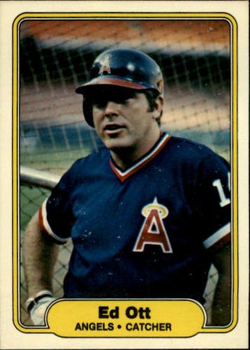 Photo of 1982 Fleer #470 Ed Ott