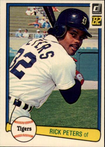 Photo of 1982 Donruss #155 Rick Peters