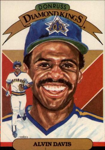 Photo of 1985 Donruss #18 Alvin Davis DK