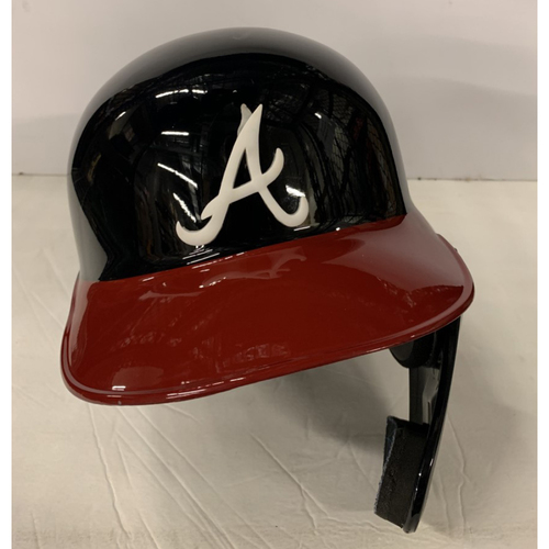 Photo of Tyler Flowers Game Used Helmet - Worn 8/14/19