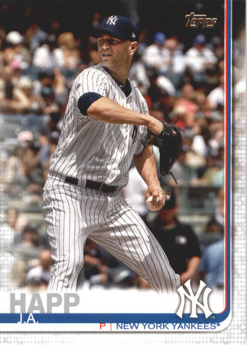 Photo of 2019 Topps #481 J.A. Happ