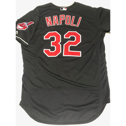 Mike Napoli Team Issued 2018 Alternate Road Jersey