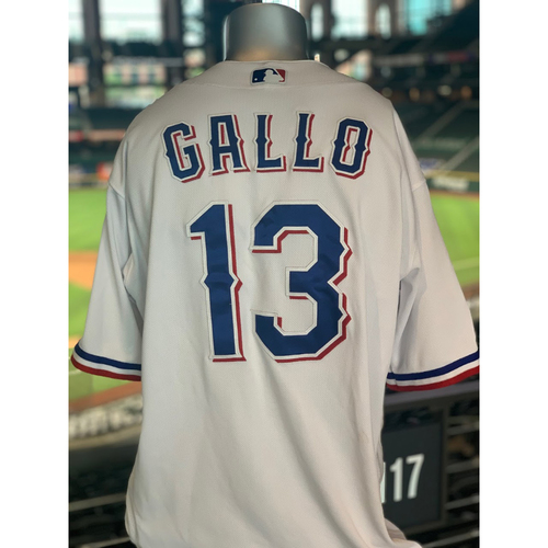 Photo of Joey Gallo Game-Used White Jersey - 1st Time Worn - Home Run (2) (7/29/20)