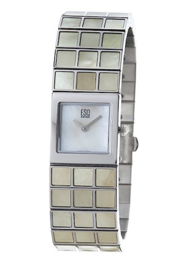 Photo of ESQ by Movado Women's Roxanne Mother of Pearl Stainless Steel Watch