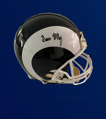 Photo of Sean McVay Signed Proline Helmet