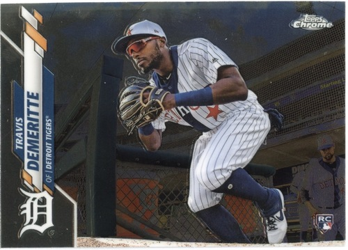 Photo of 2020 Topps Chrome #26 Travis Demeritte RC