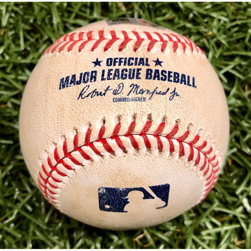 Photo of Rays Baseball Foundation: Game Used Home Run Baseball - Hunter Renfroe - July 27, 2020 v ATL