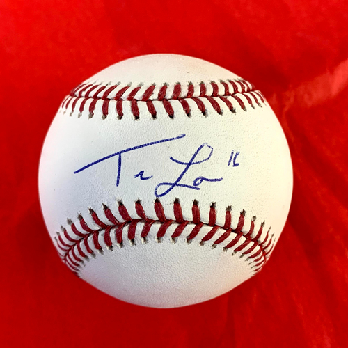Photo of Tim Locastro Autographed Baseball