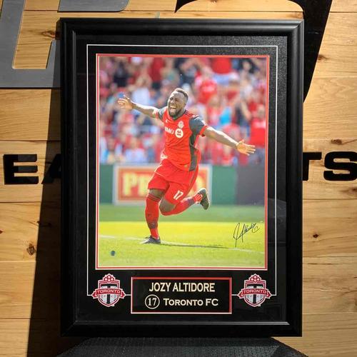 Josie Altidore Signed Frame (BUY NOW)