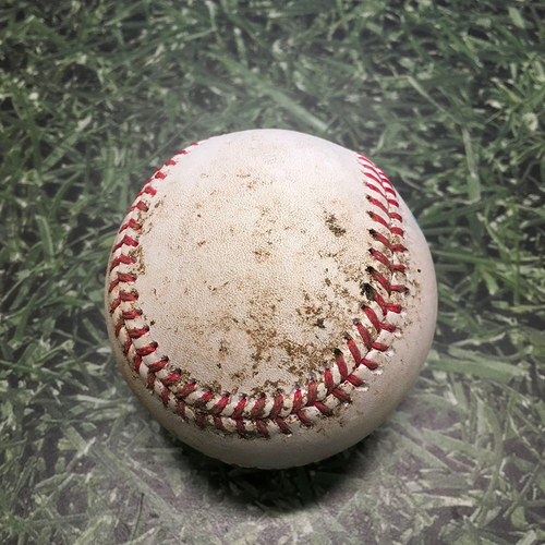 Photo of Game-Used Baseball CWS@MIL 07/24/21 - Corbin Burnes - Leury Garcia: Forceout (Yoan Moncada Safe at Home. Play Challenged by Brewers and Overturned, Player Called Out [Touching a Base]. White Sox Challenged [Rules Check], Call Upheld.)