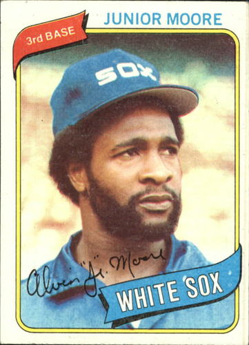 Photo of 1980 Topps #186 Junior Moore