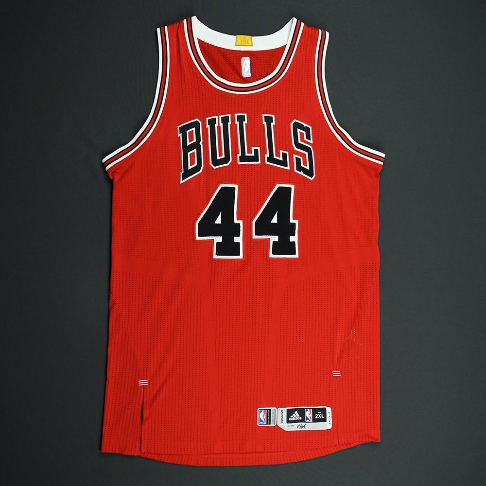 Nikola Mirotic - Chicago Bulls - Game-Worn Regular Season Jersey - 2014-15 94acf497a